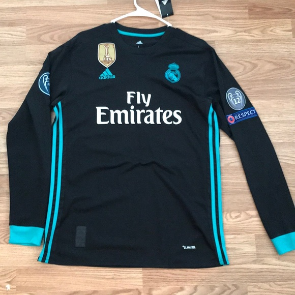 best sneakers a38e8 cd7ad 2017/2018 Real Madrid Away Soccer Jersey Ronaldo NWT